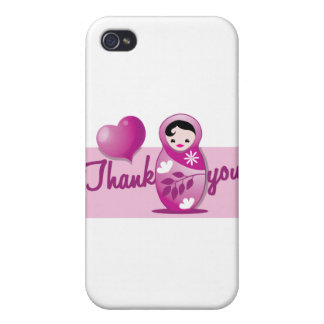 baby babushka thank you cases for iPhone 4