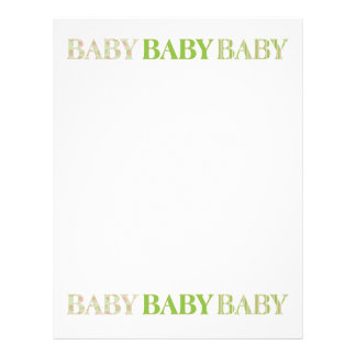 Baby, Baby, Baby Letterhead
