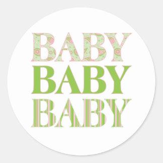 Baby, Baby, Baby Sticker