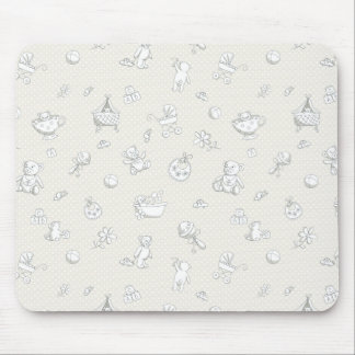 Baby background mouse pad