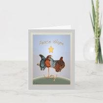 Baby backyard chicken Holiday Card.v2