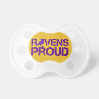 Baby Baltimore Football Fans Pacifier