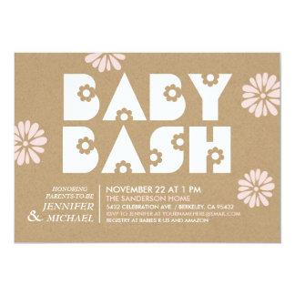 Baby Bash | Baby Shower Invitations Kraft Paper v2