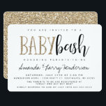 """Baby Bash, Couples Baby Shower Invitation<br><div class=""""desc"""">This Baby Bash,  Couples Baby Shower invitation,  is perfect for a co-ed shower for modern day parents to be!</div>"""