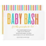 Rainbow Baby Bash Invitation