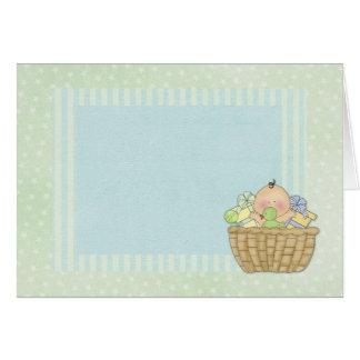 Baby Basket Card