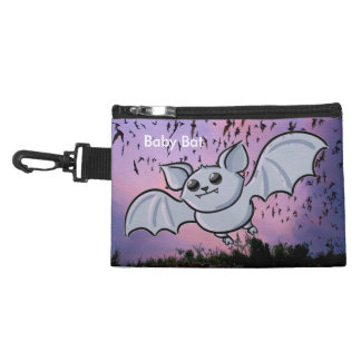 Baby Bat Flying High Clip-on Accessory Bag
