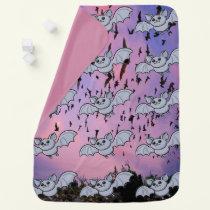 Baby Bat Flying High Swaddle Blanket