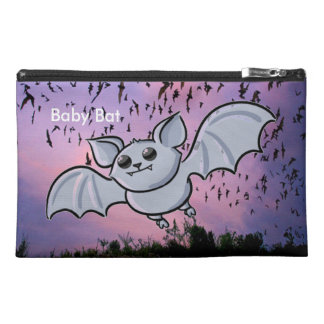 Baby Bat Flying High Travel Accessory Bag