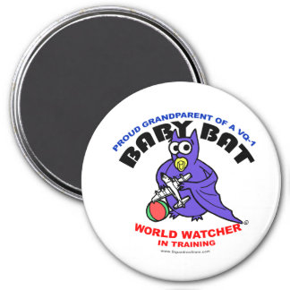 Baby Bat Grandparent big magnet
