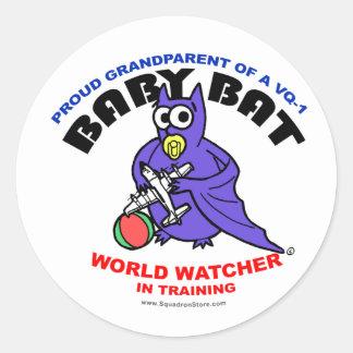 Baby Bat Grandparent big sticker