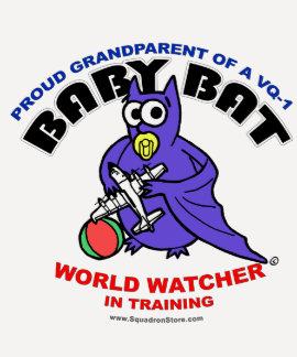 Baby Bat Grandparent raglan shirt
