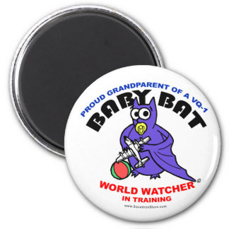 Baby Bat Grandparent small magnet