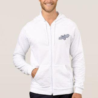 Baby Bat Men's American Apparel California Fleece Hooded Sweatshirt