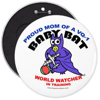 Baby Bat Mom Big Pin