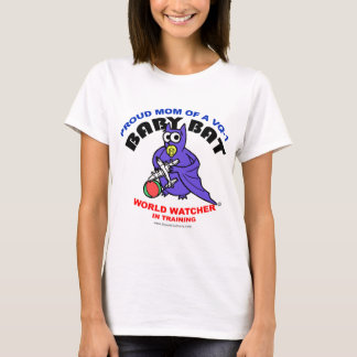 Baby Bat Mom Fitted shirt