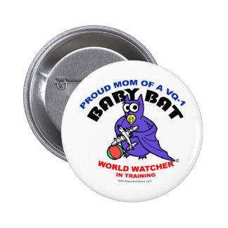 Baby Bat Mom Pin