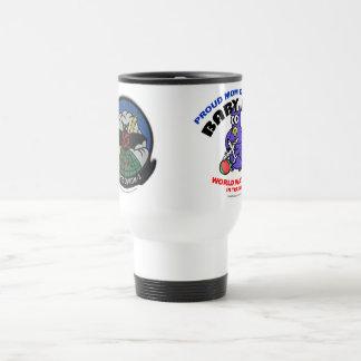 Baby Bat Mom travel mug