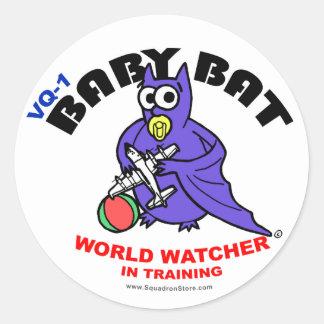 Baby Bat Small Sticker