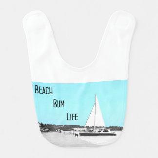 Baby Beach Bum Life Bib