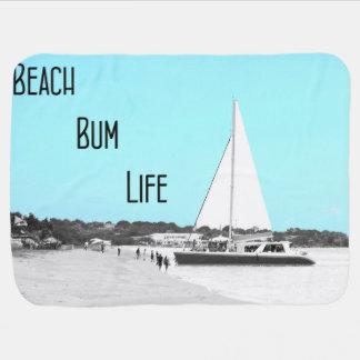 Baby Beach Bum Life Blanket