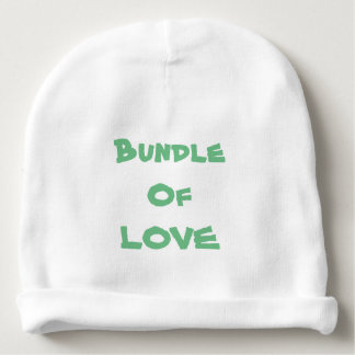 "Baby Beanies Infant Beanie Newborn Beanies ""LOVE"""