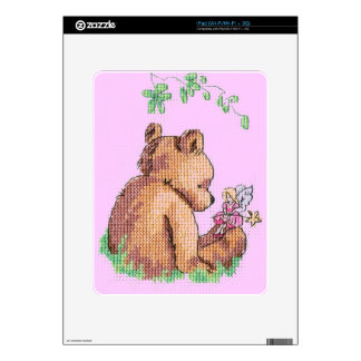 Baby Bear and Fairy in Forest ! iPad Decal