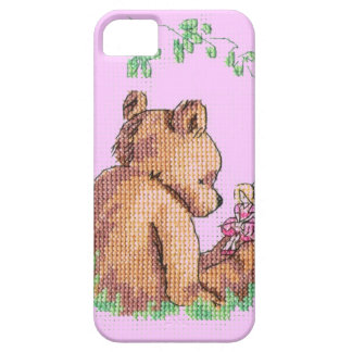 Baby Bear and Fairy in Forest ! iPhone SE/5/5s Case