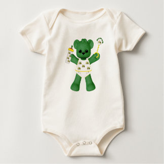 Baby Bear and Tractor Infant Baby Bodysuit