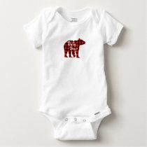 Baby bear baby onesie