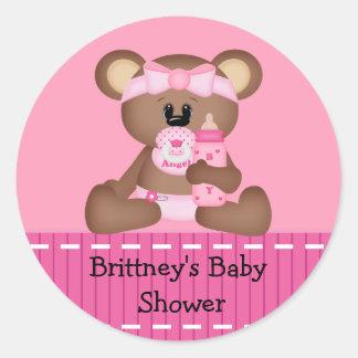 Baby Bear Baby Shower Sticker