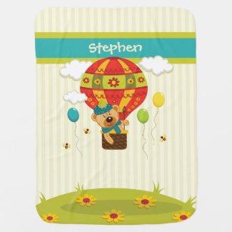 Baby Bear Ballooning Blanket
