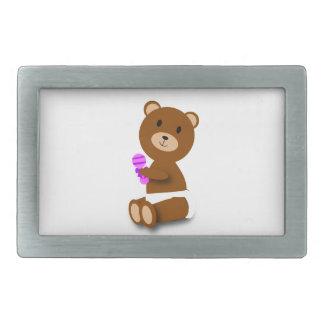 Baby Bear Belt Buckles