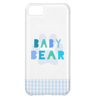 Baby bear - blue iPhone 5C cover