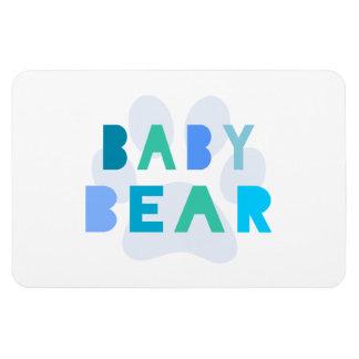 Baby bear - blue magnet