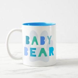 Baby bear - blue mug