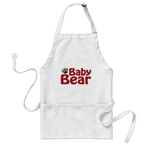 Baby Bear Claw Adult Apron