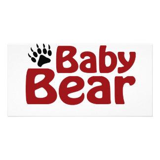 Baby Bear Claw Card