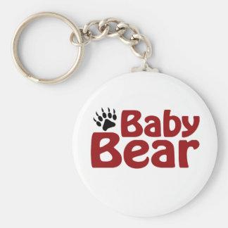 Baby Bear Claw Keychains