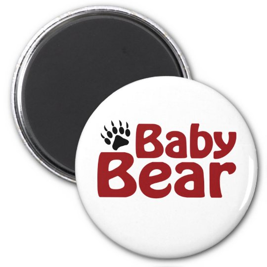 Baby Bear Claw Magnet