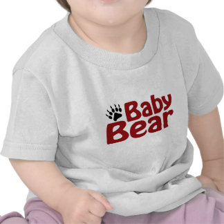 Baby Bear Claw T Shirts