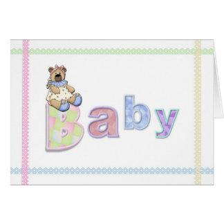 Baby Bear Congratulations Greeting Cards