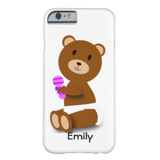 Baby Bear Customizable Barely There iPhone 6 Case