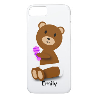 Baby Bear Customizable iPhone 7 Case