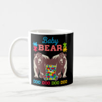 Baby Bear Doo Doo Doo Cute Autism Awareness Coffee Mug
