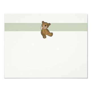 Baby Bear Flat Thank You Notecard