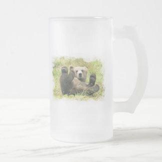 Baby Bear Frosted Beer Mug