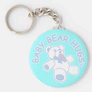 Baby Bear Hugs Keychain