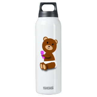 Baby Bear Liberty Bottle 16 Oz Insulated SIGG Thermos Water Bottle