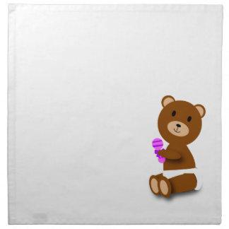 Baby Bear Napkin